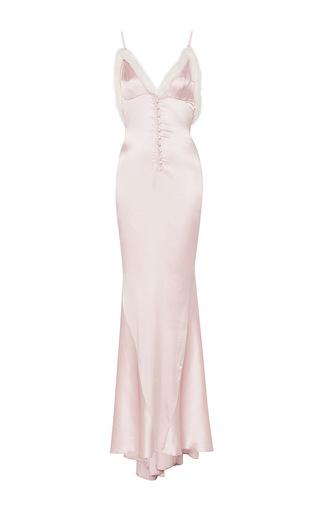 Medium rosamosario pink felina passione long slip dress
