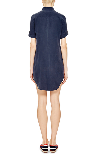 Silk Signature Shirt Dress by EQUIPMENT Now Available on Moda Operandi