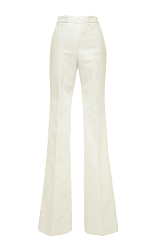 Medium giambattista valli white giambattista valli cotton bell bottom pants
