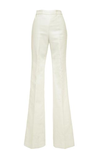 Medium giambattista valli white giambattista valli cotton bell bottom pants