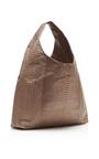 Mink Matte Python Hobo Bag by HUNTING SEASON Now Available on Moda Operandi