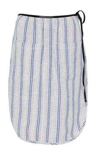 Medium j w anderson blue robe skirt