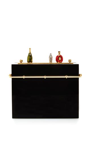 Medium charlotte olympia black cocktail hour clutch