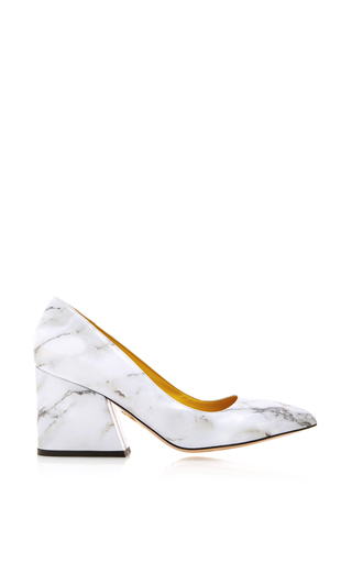 Medium charlotte olympia white vendome pumps