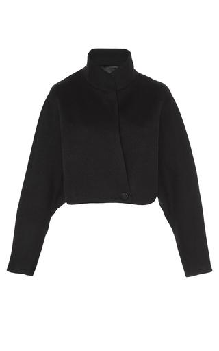 Medium honor black cashmere oversized shrug