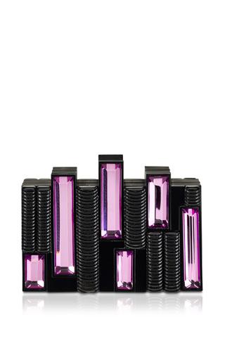 Medium rauwolf black castellum solid in black violet