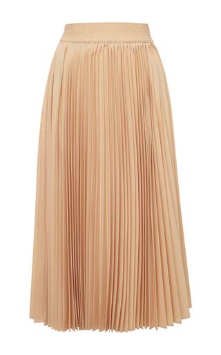Medium derek lam 10 crosby nude pleated skirt