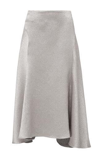 Medium isa arfen silver hammered silk that 90s skirt