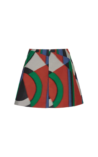 Medium isa arfen print moscow jacquard mini skirt