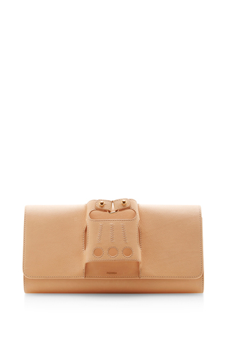 Medium perrin nude cabriolet glove clutch