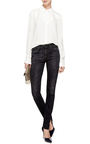 Allison Skinny Jeans In Black by R13 Now Available on Moda Operandi