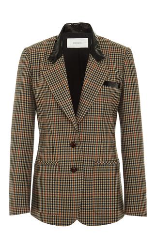 Medium rodarte brown brown wool tweed blazer