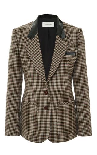 Grey Wool Tweed Blazer by RODARTE Now Available on Moda Operandi