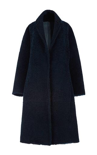 Medium antonio berardi green petrol green shearling coat