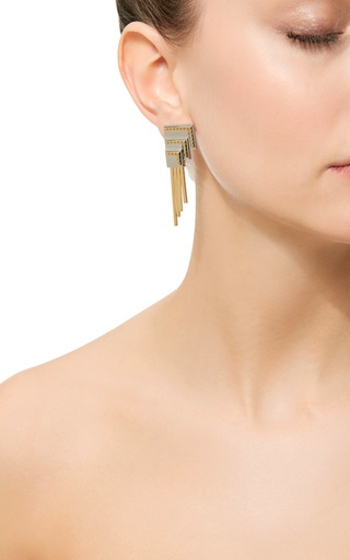 Anuket Silver Baby Earring by MONICA SORDO Now Available on Moda Operandi