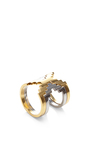 Kavanagh Stackable Geometric Ring by MONICA SORDO Now Available on Moda Operandi