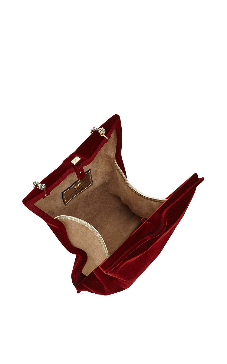 289d1083d4 Anya HindmarchCrisp Packet Clutch Flocked In Medium Red Brass. CLOSE.  Loading. Loading. Loading