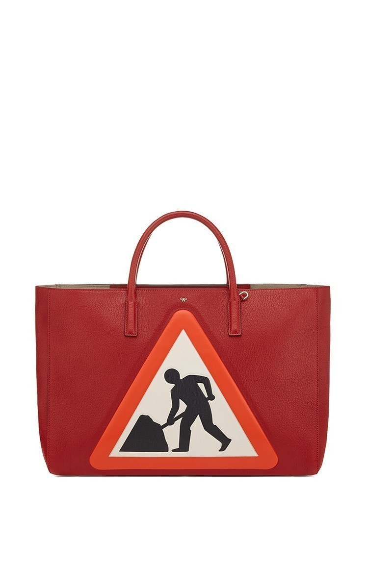 c1056d37351 Ebury Maxi Featherweight Men At Work Bag In Red Capra Leather by ...