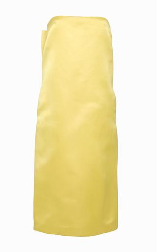 Origami Bow Column Dress by KATIE ERMILIO Now Available on Moda Operandi