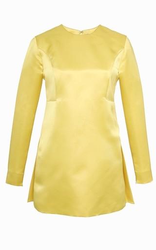 Flounce Back Tunic by KATIE ERMILIO Now Available on Moda Operandi