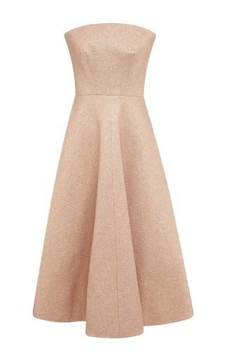 Medium rochas light pink strapless light pink dress