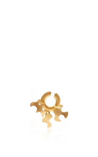Medium tibi gold paige novick for tibi sculpture earring