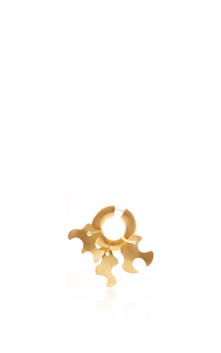 Medium tibi gold paige novick for tibi sculpture earring