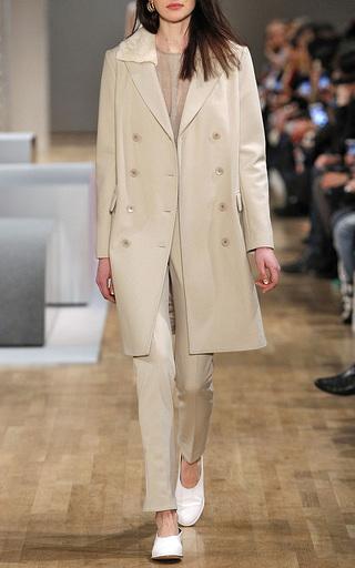 "Luca ""Double Piercing"" Braided Hoop Earring by TIBI for Preorder on Moda Operandi"