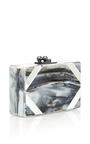 Minnie Acrylic Cut Corners Clutch by EDIE PARKER Now Available on Moda Operandi