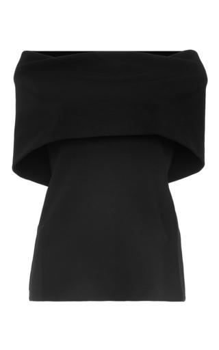 Medium rosetta getty black stretch ottoman banded t shirt