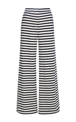 Medium harvey faircloth stripe wide leg pant