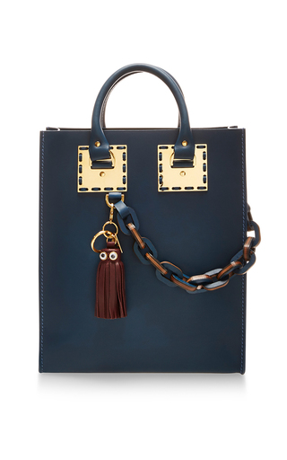 Medium sophie hulme blue albion mini tote bag