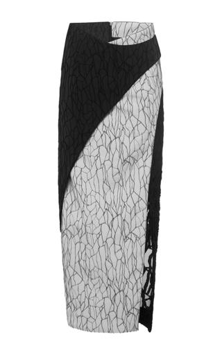 Medium jonathan simkhai white midi caviar drip skirt