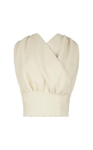 Medium emilia wickstead white grace top