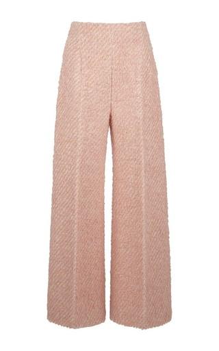 Medium emilia wickstead pink boucle rodney trouser
