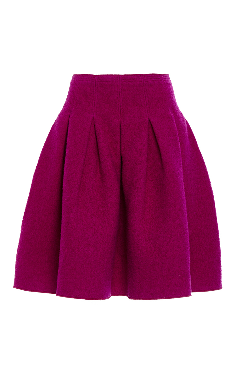Full Pleated Skirt by Oscar de la Renta | Moda Operandi