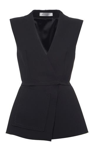 Medium sportmax black babila sleeveless top