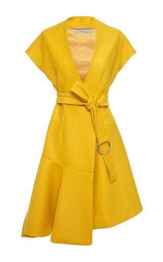Medium sportmax yellow eligio dress