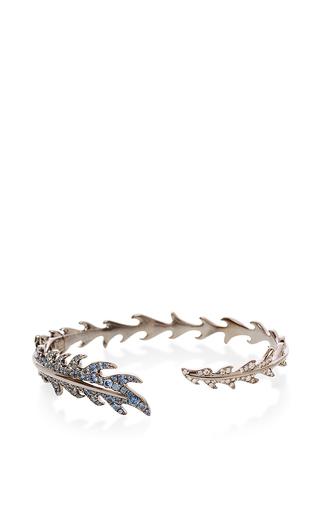 Medium mimi so blue black and blue phoenix feather cuff