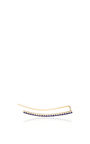 Curved Bar Cuff Earring With Blue Sapphires by EF COLLECTION Now Available on Moda Operandi
