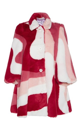 Medium vivetta print eliot coat