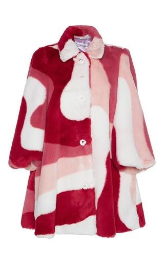 Medium vivetta print eliot coat