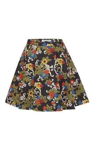 Medium vivetta black venere skirt