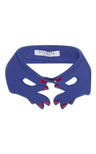 Medium vivetta blue blue klein fenoglio collar
