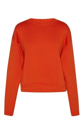 Medium vivetta orange orange deledda crew neck sweater