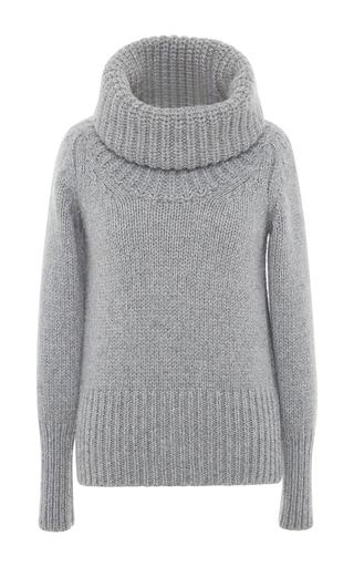 Medium blumarine dark grey heather grey cashmere turtleneck sweater