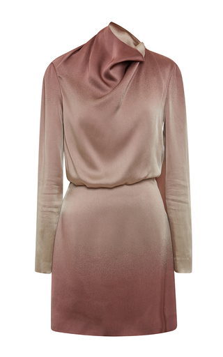 Medium blumarine multi ombre open back dress