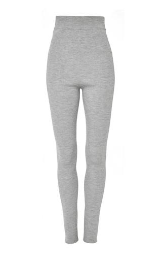 Medium apiece apart dark grey santiago ribbed legging
