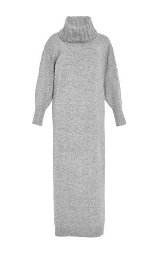 Medium apiece apart dark grey aita oversize cashmere dress