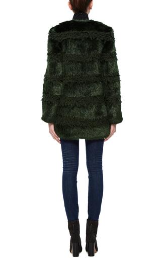 Bobbin Coat In Bottle Green by SHRIMPS Now Available on Moda Operandi